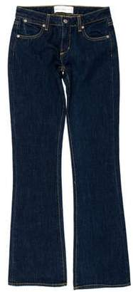 Paper Denim & Cloth Mid-Rise Flared Jeans w/ Tags