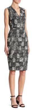 Max Mara Max Mara Piroghe Printed Dress