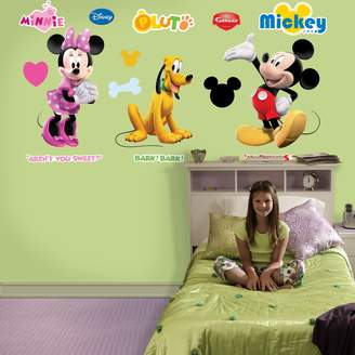 Disney Fathead Mickey, Minnie and Pluto Wall Decals