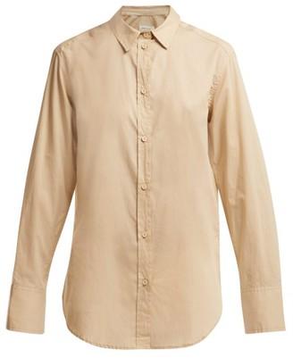 Matteau - The Long Sleeve Cotton Shirt - Womens - Cream