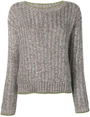 Eleventy metallic jumper