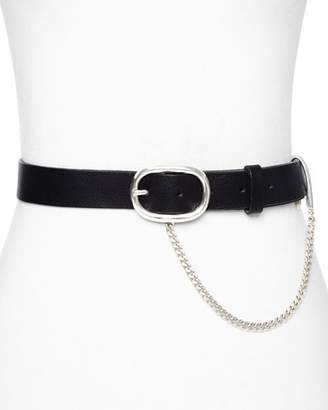 Rag & Bone Chain Detail Boyfriend Belt