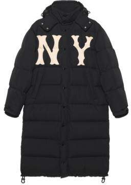 Gucci Men's nylon coat with NY YankeesTM patch