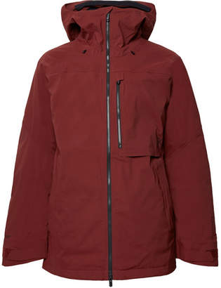 Burton ak] GORE-TEX Helitack Hooded Ski Jacket - Men - Brick