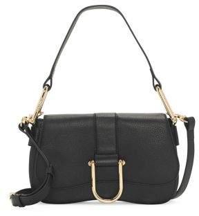 Vince Camuto Tal Buckle Leather Shoulder Bag