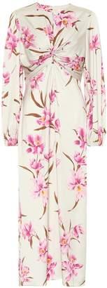 Zimmermann Floral stretch silk dress