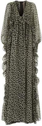 N°21 N 21 Star Print Silk Gown