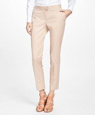 Brooks Brothers Petite Flat-Front Stretch Advantage Chinos