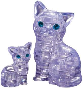 Bepuzzled BePuzzled 49-pc. Cat & Kitten 3D Crystal Puzzle