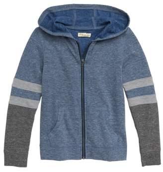 Tucker + Tate Colorblock Zip Crew Sweatshirt