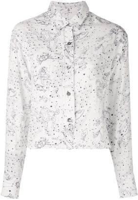 The Elder Statesman Constellation print shirt