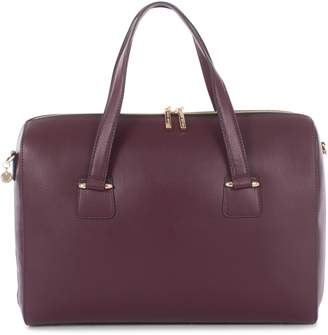 Celine Dion Triad Leather Satchel