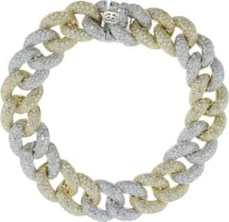Sydney Evan Diamond Pave Link Bracelet