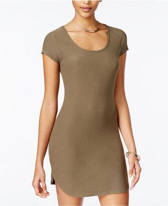 Planet Gold Juniors' Bodycon T-Shirt Dress $29 thestylecure.com