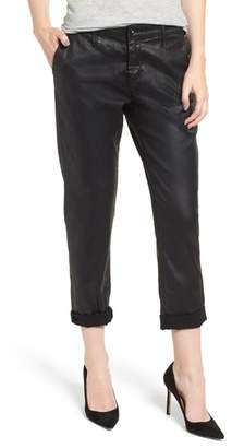 AG Jeans Caden Crop Faux Leather Trousers