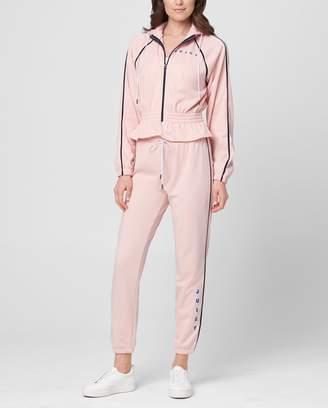 Juicy Couture JXJC Interlock Cinched Waist Track Jacket