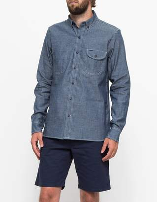 Rogue Territory Jumper Shirt Blue Chambray