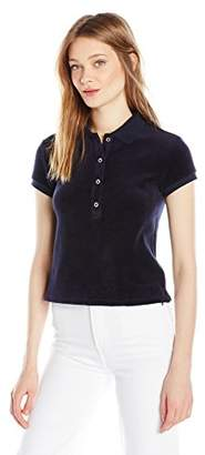 Juicy Couture Black Label Women's Stretch Velour Polo