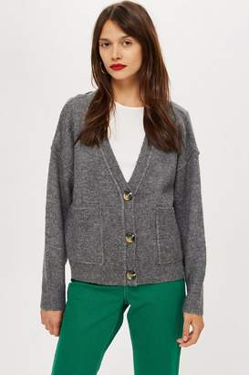 Topshop Pocket Cardigan