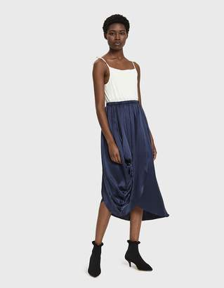Sachi Nehera Satin Skirt