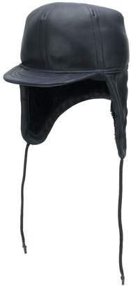 Yves Salomon Army ear flap cap