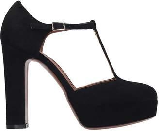 L'Autre Chose Lautre Chose LAutre Chose Sandals In Black Suede