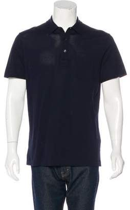 Ralph Lauren Black Label Piqué Polo Shirt