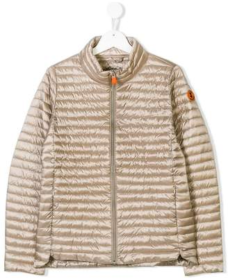 Save The Duck Kids zipped padded coat