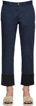 Loewe Fisherman Cotton Canvas Chino Pants
