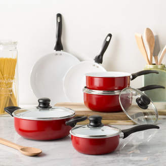 Wayfair Basics Wayfair Basics 10 Piece Nonstick Ceramic Cookware Set