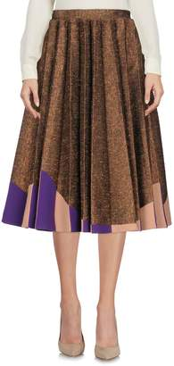 DELPOZO 3/4 length skirts