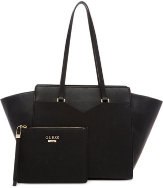 GUESS Bryanna Privy X-Large Tote with Pouch, A Macy's Exclusive Style $128 thestylecure.com