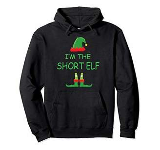 I'm the SHORT Elf Matching Family Group Costume Hoodie