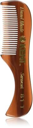 Kent 81T Handmade Sawcut Beard and Mustache Comb