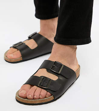 4853d7e82 Asos Design DESIGN sandals in black with buckle