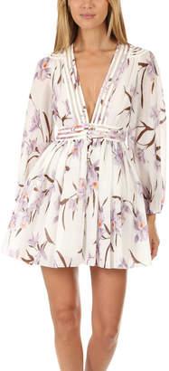 Zimmermann Corsage Plisse Mini Dress