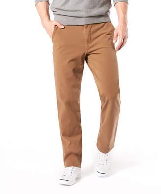 Dockers Straight Fit Downtime Khaki Smart 360 Flex Flat Front Pants