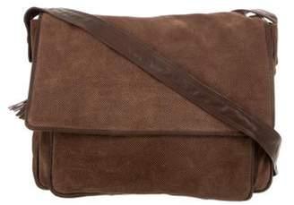 Bottega Veneta Vintage Suede Messenger Bag Brown Vintage Suede Messenger Bag