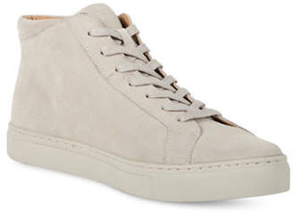 Kenneth Cole Reaction Round Toe Suede High-Top Sneakers