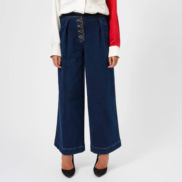 Rejina Pyo Women's Jeans Denim Blue