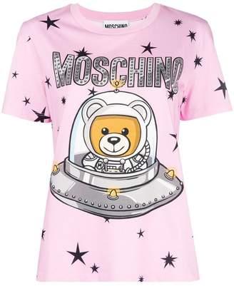Moschino Teddy logo short-sleeve T-shirt