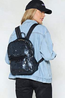 Nasty Gal WANT Sequin You Again Backpack