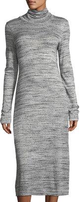Allen Allen Turtleneck Long-Sleeve Knit Dress $59 thestylecure.com