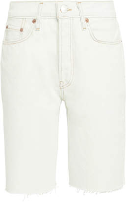 RE/DONE 80's Long Denim Shorts