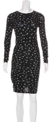 Etoile Isabel Marant Printed Knee-Length Dress