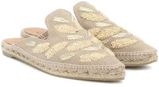 Castaner Rosa embroidered espadrille mules