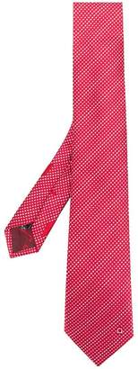 Salvatore Ferragamo dotted pattern tie