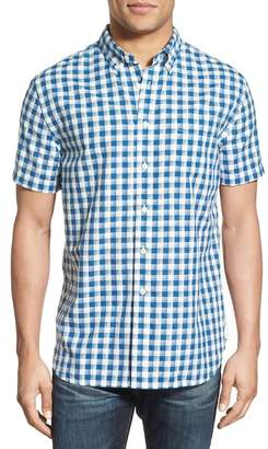 Grayers Grange Gingham Short Sleeve Woven Regular Fit Shirt