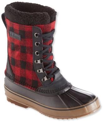 L.L. Bean L.L.Bean Snow Boots, Lace-Up Print
