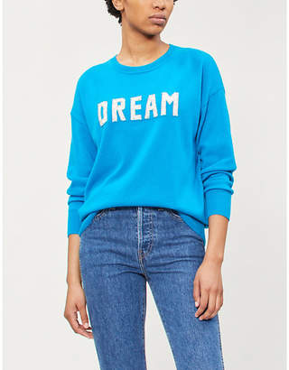 Sandro Dream wool and cashmere-blend jumper